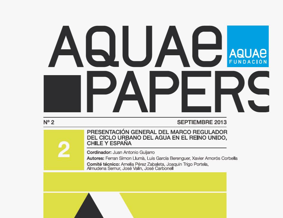 Fundación Aquae presenta Aquae Papers #2
