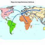 listado de países que exportan agua