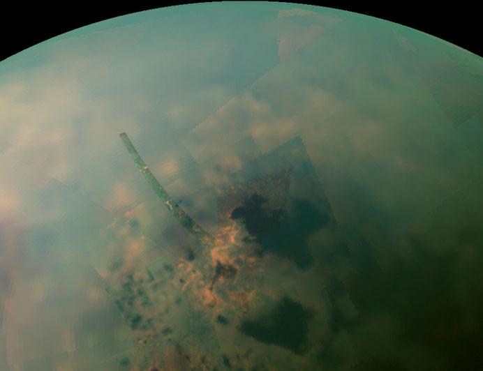 la atmósfera de Titán