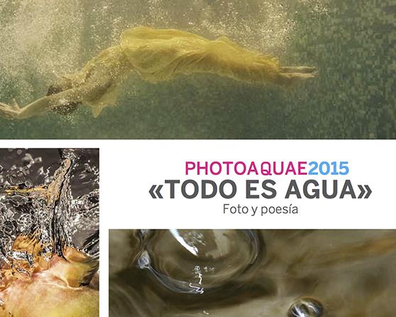 Fotografías y poemas para rendir homenaje al agua