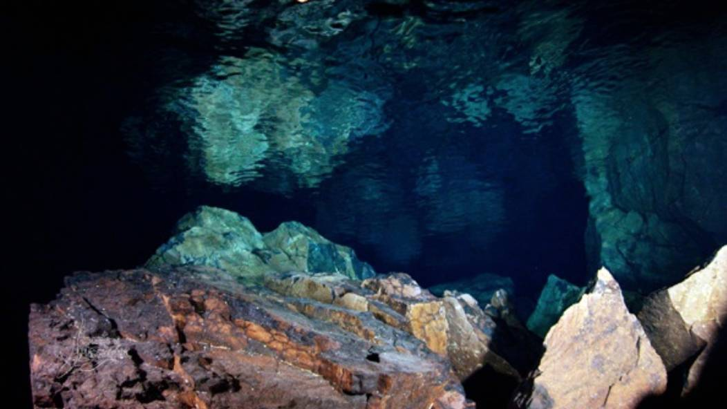 cueva submarina en la palma