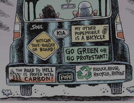 El Papa Francisco contra el cambio climático
