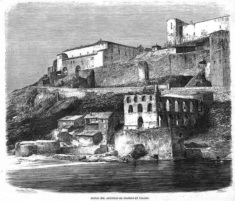 El artificio de Juanelo Turriano para el alcázar de Toledo