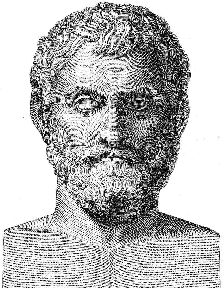 Tales de Mileto, el agua es el principio de todas las cosas