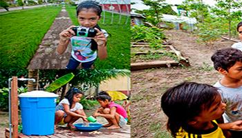 Carta de agradecimiento al proyecto Agua para la Amazonía peruana, que Fundación Aquae lleva a cabo en colaboración con UNICEF