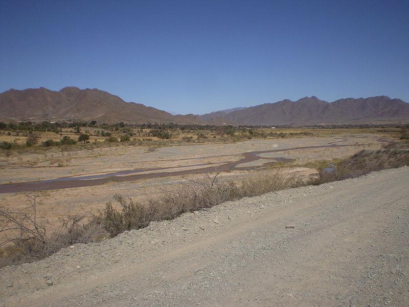 río Salado Argentina sequía