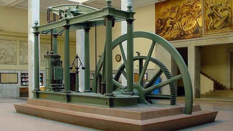 quien inventó la máquina de vapor