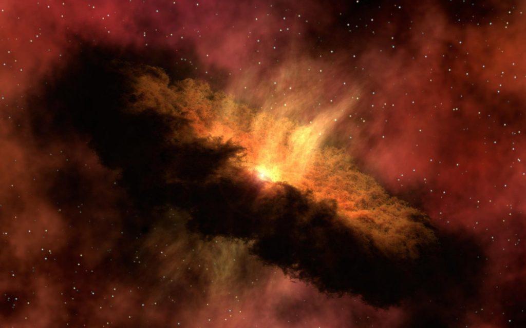Nacimiento de una estrella y muerte