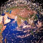 basura espacial como satélites son un gran problema