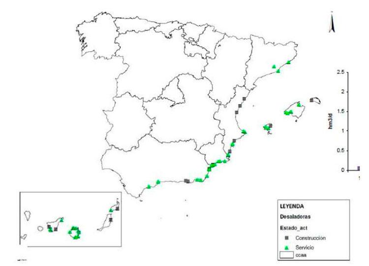 plantas desaladoras en España