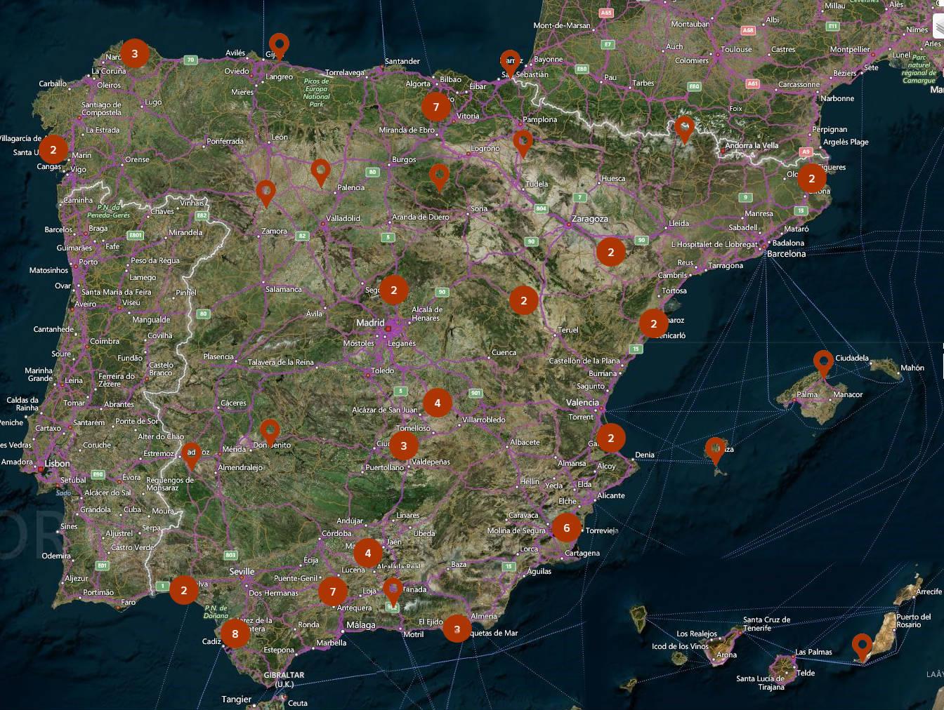 Resultado de imagen de España es eltercer país con más humedales de todo el mundo.