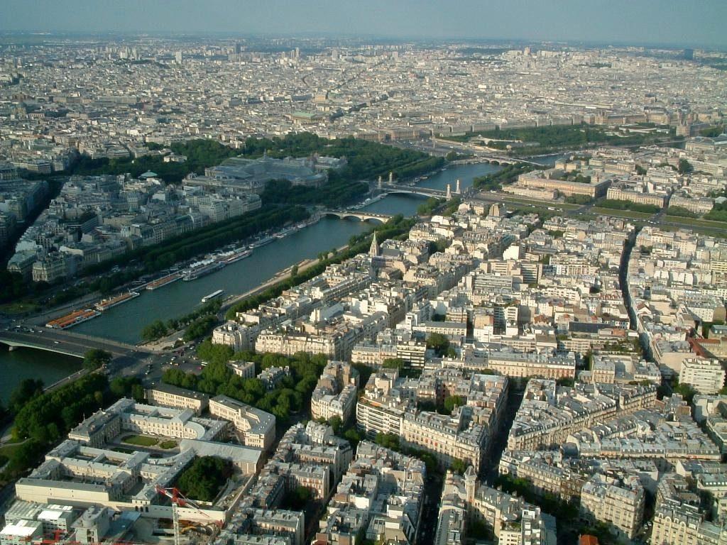 Río Sena en París