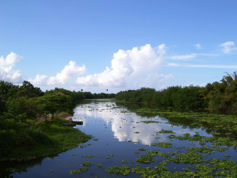 el Rio de la plata, uno de los ríos más importantes de América del Sur
