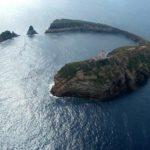 La Reserva Marina de las Islas Columbretes son un parque natural situado en la plataforma marina frente a Castellón, el litoral valenciano.