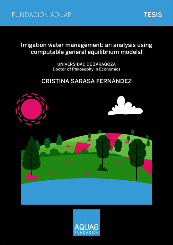 tesis Cristina Sarasa, gestión del agua