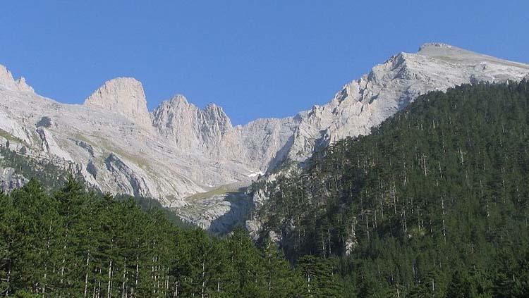 Monte Olimpo, la montaña más alta de Grecia