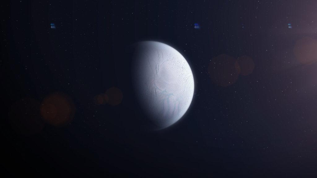 El satélite Encelado podría albergar vida