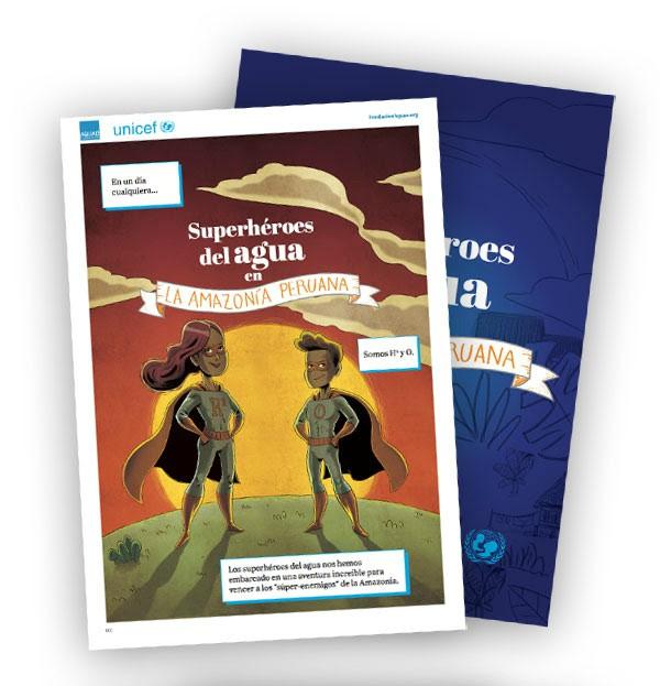 Comic Agua para la Amazonia peruana