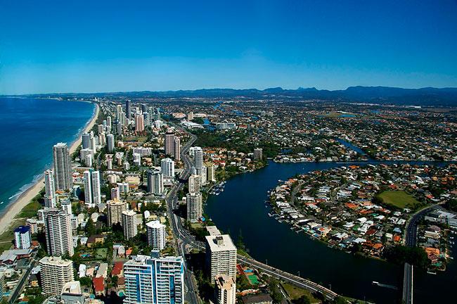 Gold Coast, de los destinos turísticos más espectaculares