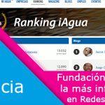 a Fundación Aquae lidera el ránking elaborado por la revista iAgua
