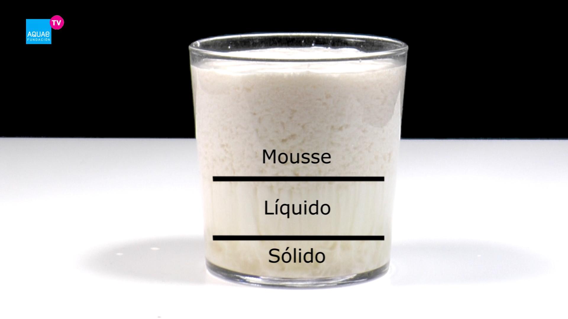 Experimento: reacción de leche con bebida isotónica