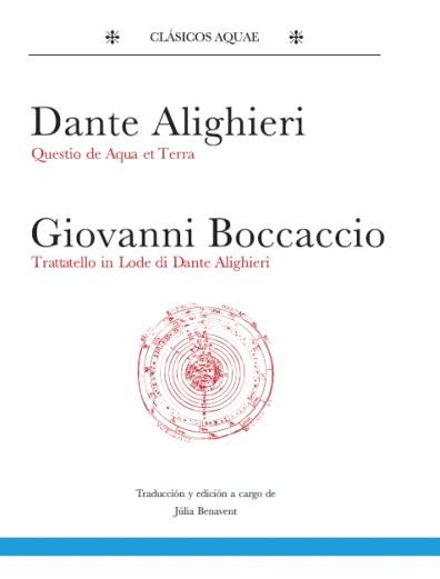 """Dante Alighieri se convierte en el autor del primer título de la Colección """"Clásicos Aquae"""" con Quaestio de aquae et terra"""