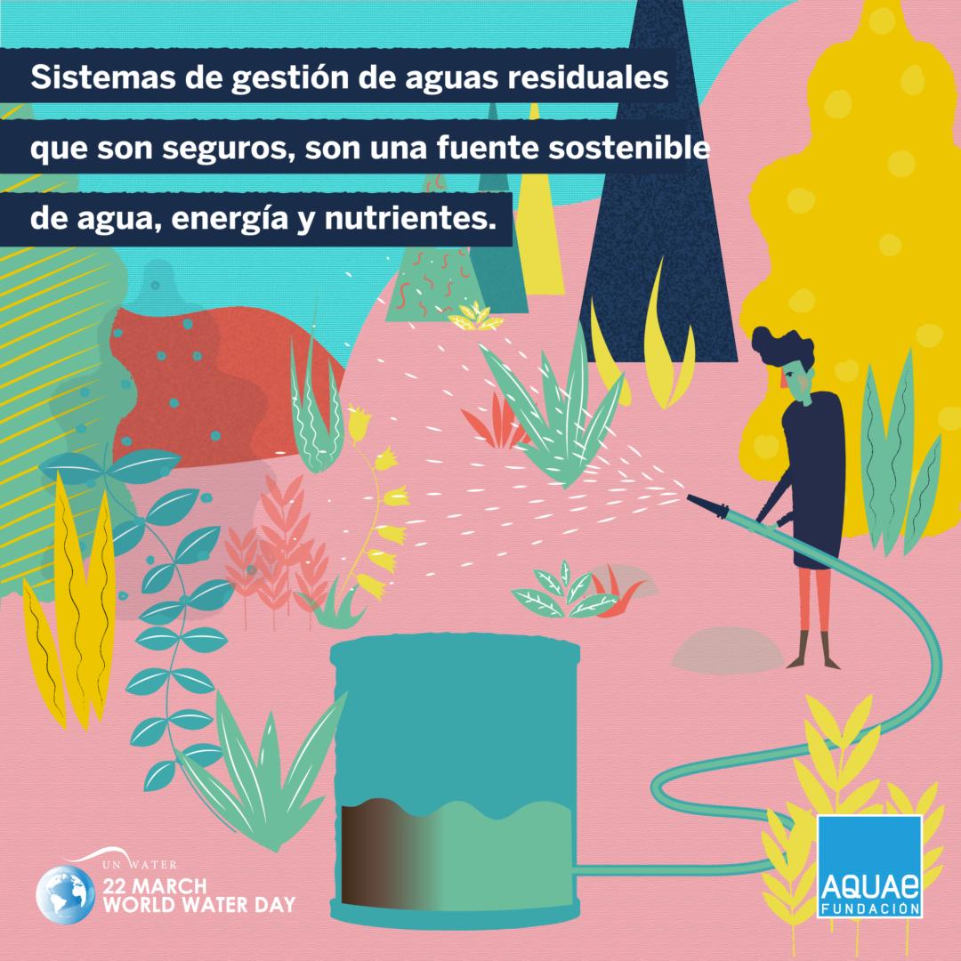 ODS: reutilizar agua