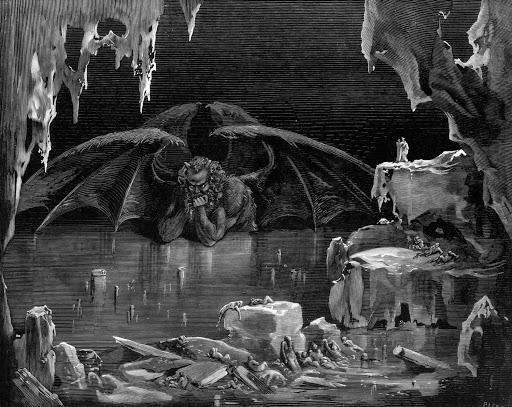 Dante Alighieri y los ríos del infierno