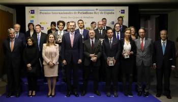 Entrega de los Premios de Periodismo Rey de España