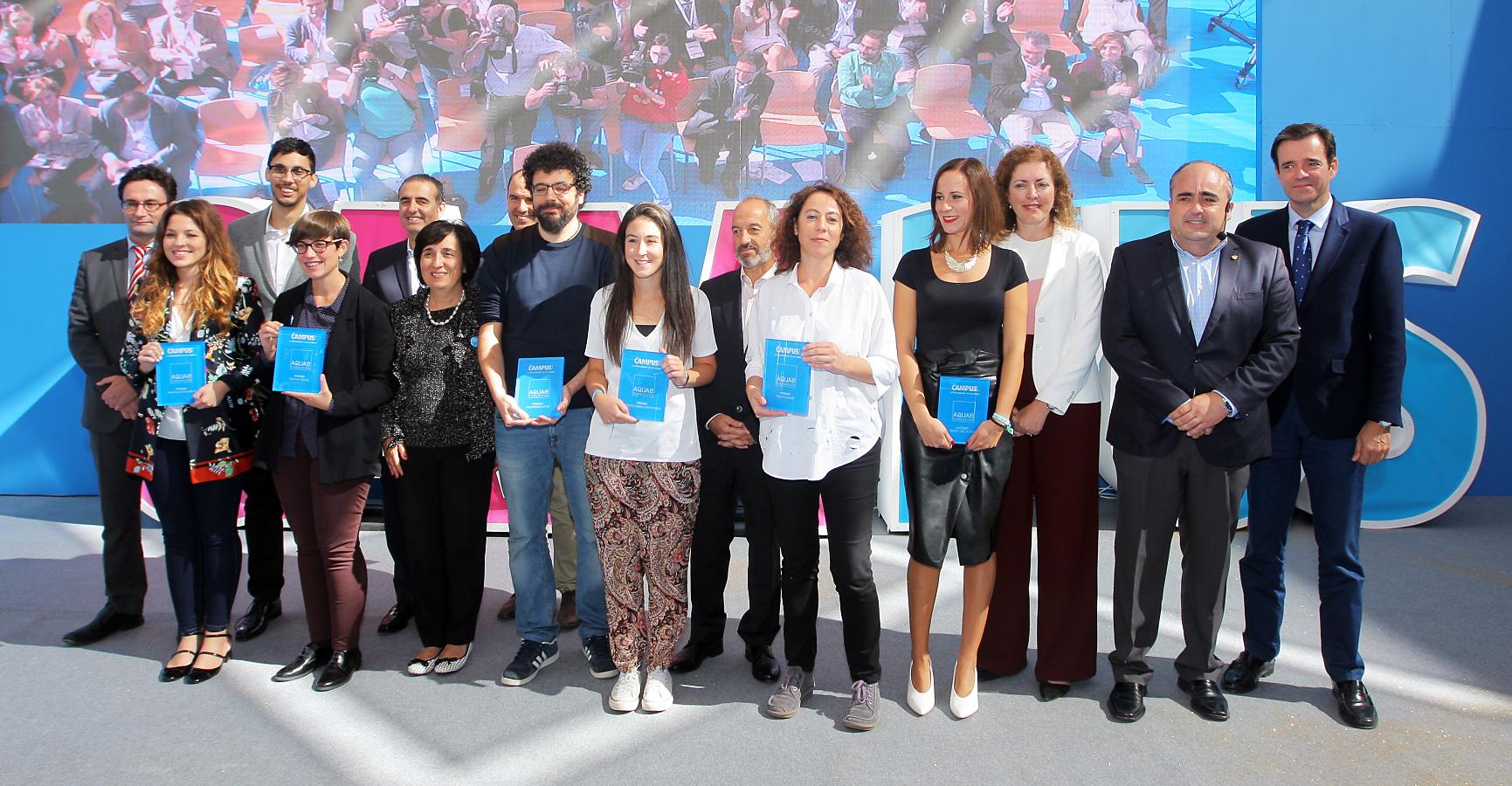 Conocemos a los ganadores de los Premios Aquae Campus 2017