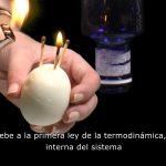 Cómo meter un huevo en una botella - el efecto de la presión atmosférica con botellas