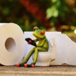el retrete y el tratamiento de aguas residuales