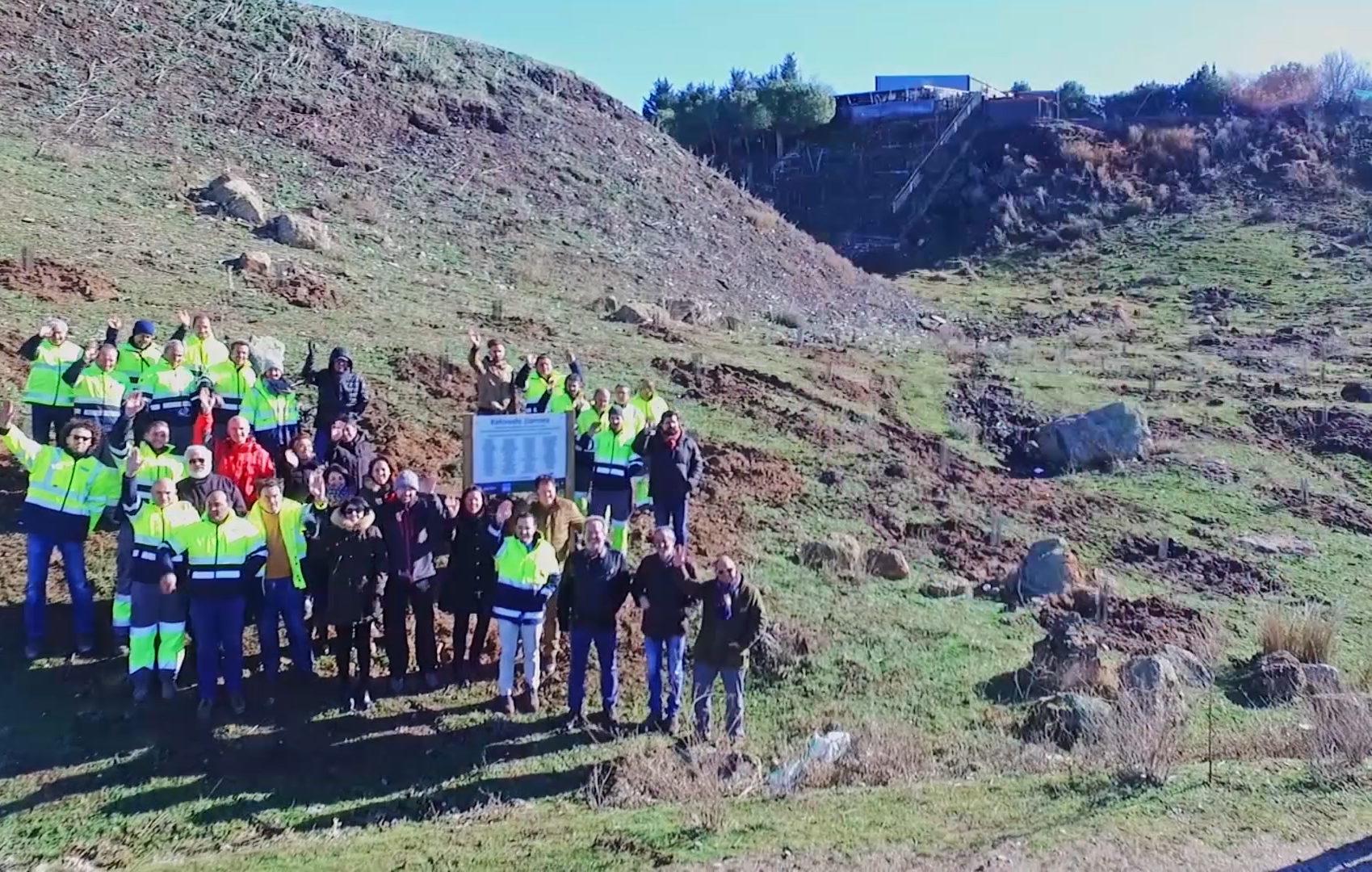Fundación Aquae siembra oxígeno en Zamora