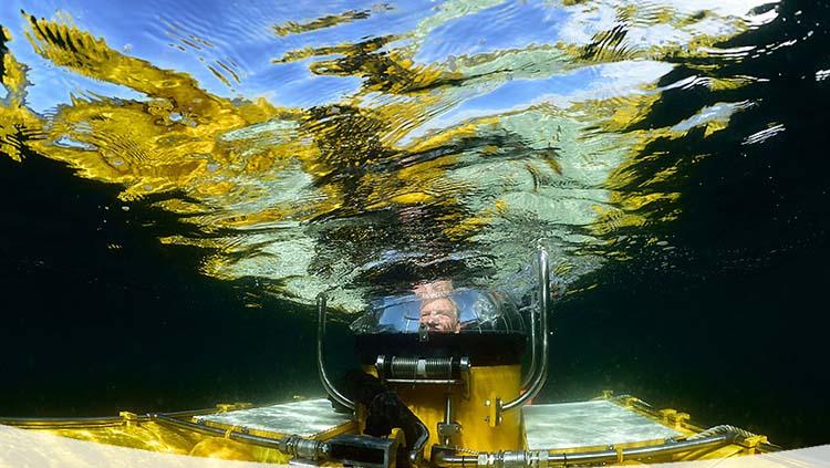 estudio de la acidificación del agua del mar