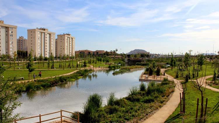 La Marjal Alicante, una de las ciudades más verdes