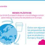 el uso del plástico en Europa