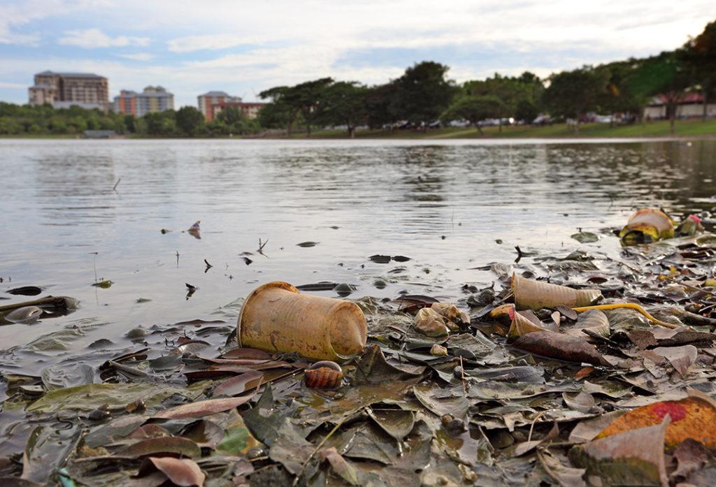 contaminación por plásticos en el mar