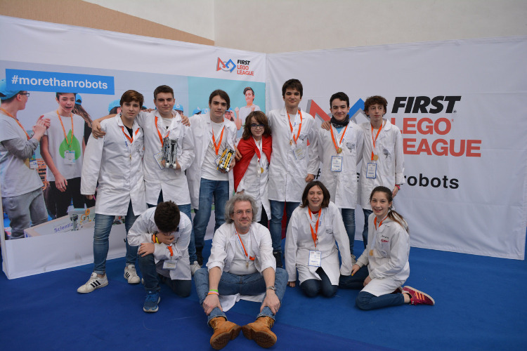 Participantes en First Lego League