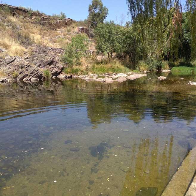 Piscinas Naturales: Abadía (Valle del Ambroz)