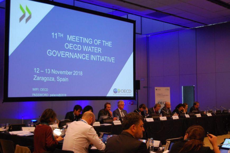 Nos unimos a la OCDE por una mejor gestión del agua