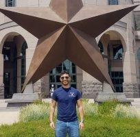 Abel Martínez en el Aerospace Systems Laboratory gracias a Fundacion Once