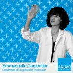 Emmanuelle Charpentier es una microbióloga y bioquímica francesa reconocida por su trabajo en el campo de la genética molecular.