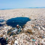 isla de basura del océano pacífico