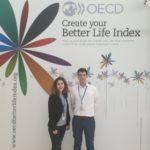 Elisa Elliotty Ander Eizaguirre becados por OCDE y Cátedra Aquae
