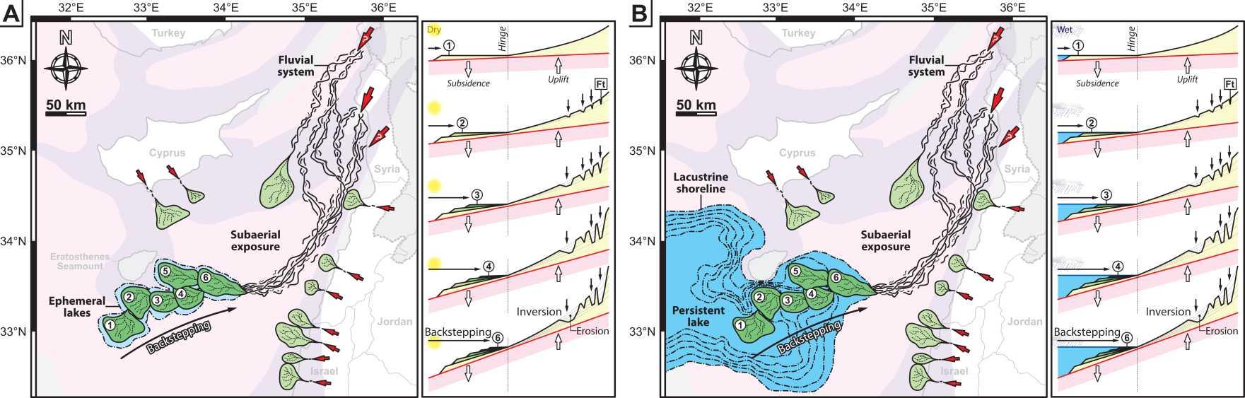 El Mediterráneo se secó hace 5 millones de años