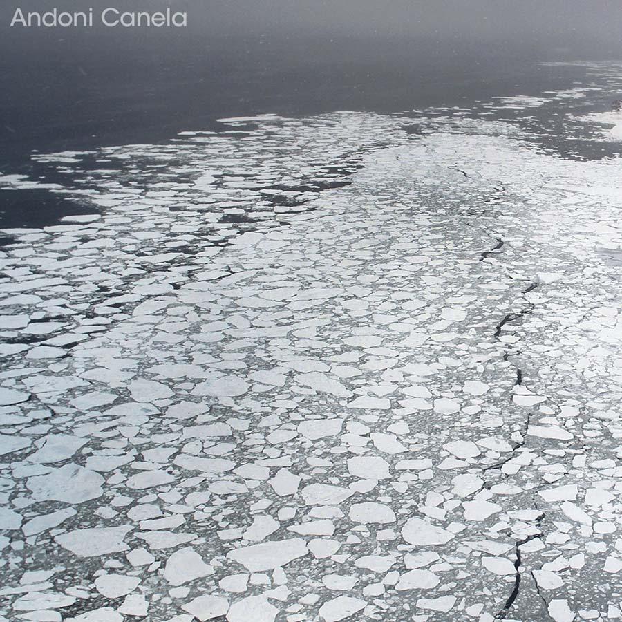 Andoni Canela, hielo océano ártico
