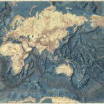 Marie Tharp y el mapa del Atlántico Norte