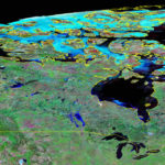 El campo magnético del polo norte se mueve hacia Siberia