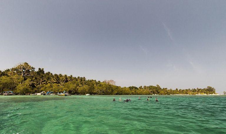 Isla Havelock es uno de los lugares más famosos de agua cristalina del mundo