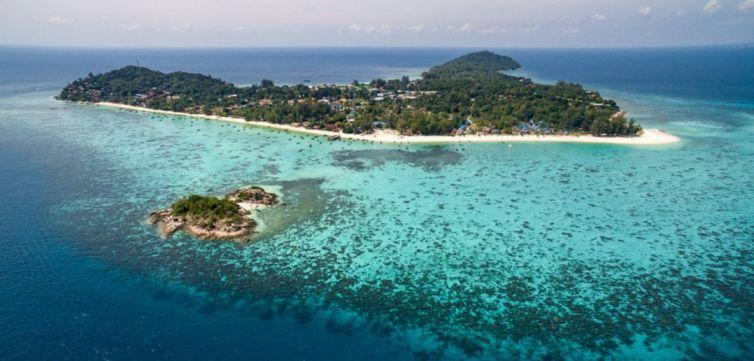 Isla de Ko Lipe es uno de los lugares con el agua más cristalina del mundo